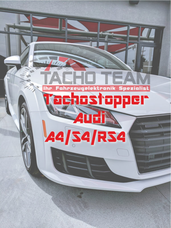Tachofilter A4 S4 RS4