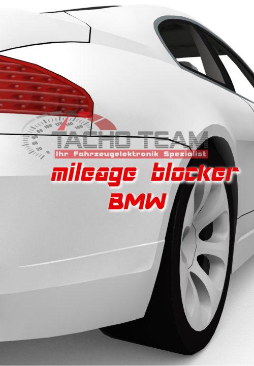Mileage blocker BMW