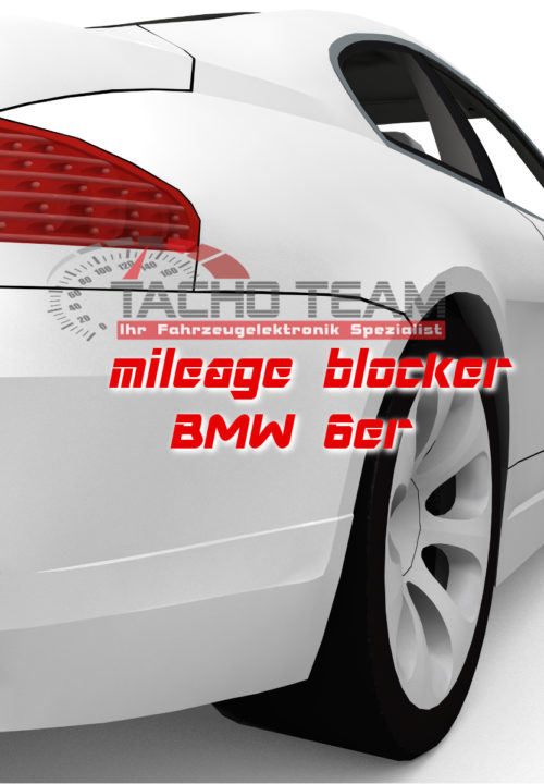 mileage stopper BMW 6er