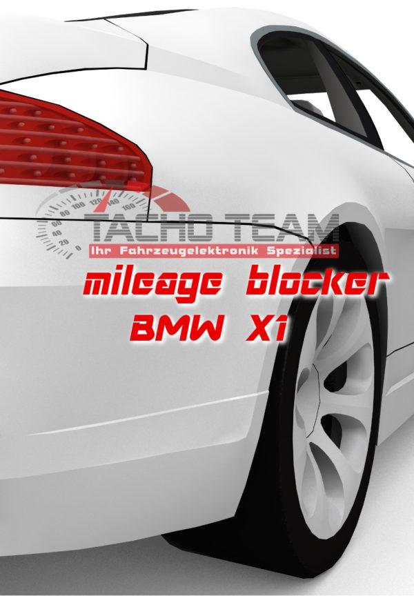 mileage stopper BMW X1