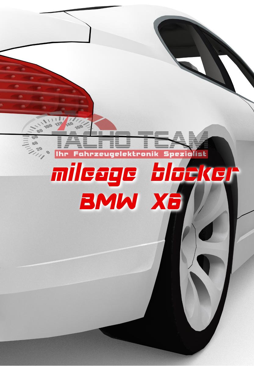 mileage stopper BMW X6