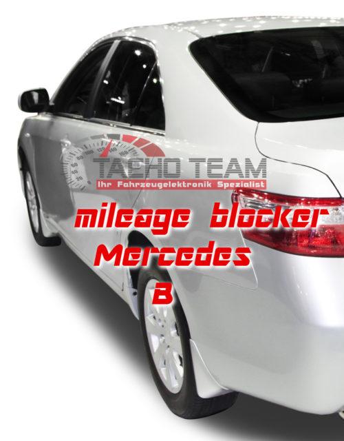 mileage stopper Mercedes B-Class
