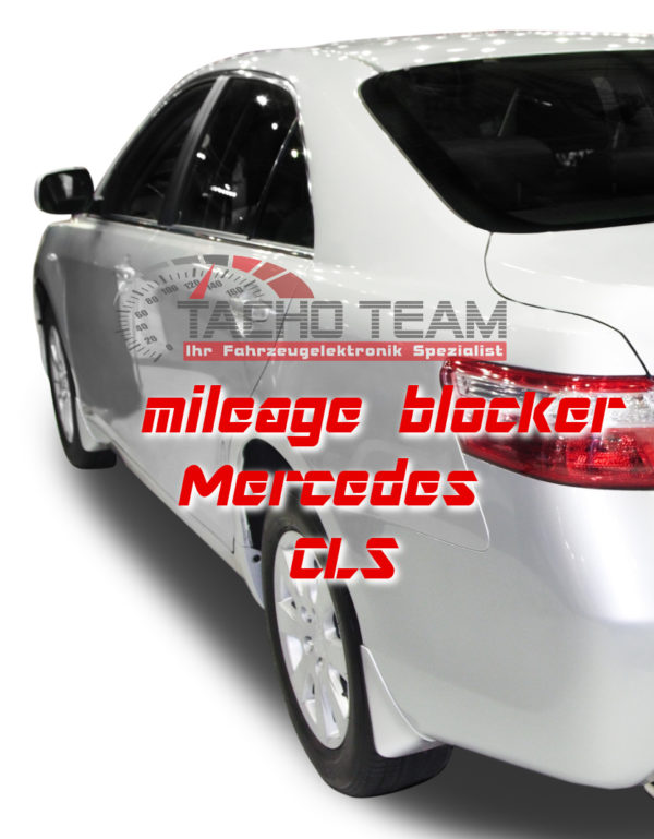 mileage stopper Mercedes CLS C257