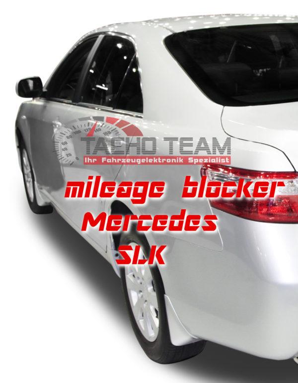 mileage stopper Mercedes SLK