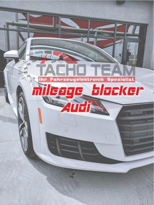 Mileage blocker Audi