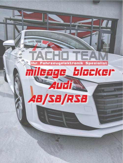 mileage stopper Audi A8