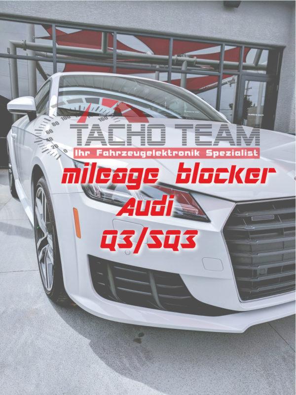 mileage stopper Audi Q3 / SQ3