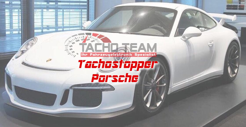 Mileage stopper Porsche