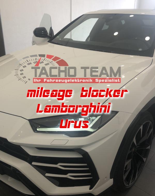 Mileage stopper Lamborghini Urus
