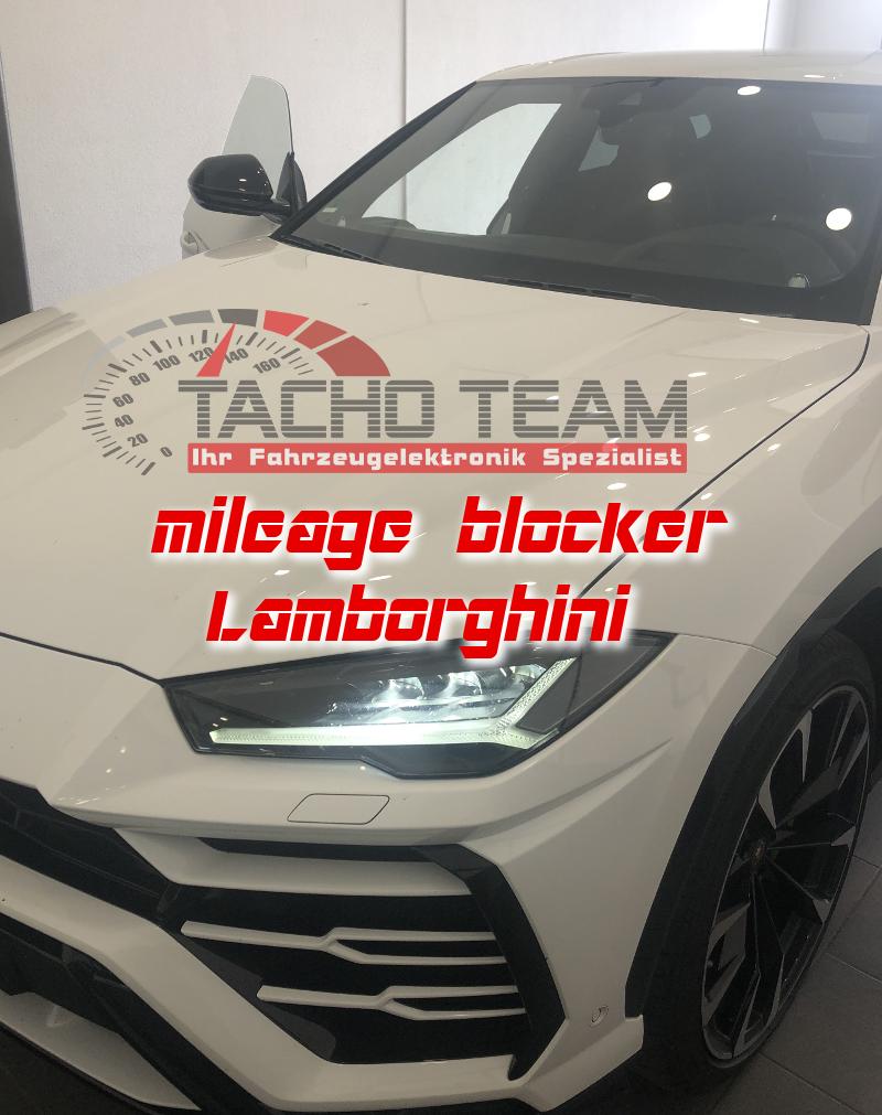 mileage stopper Lamborghini