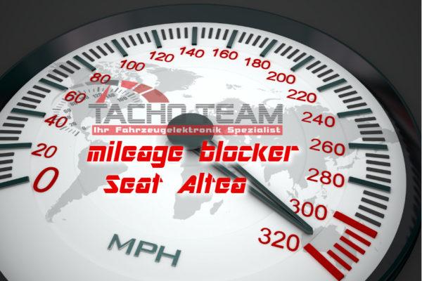 mileage stopper Seat Altea