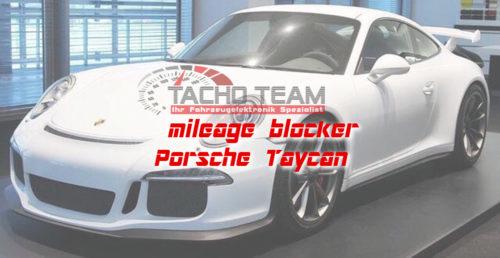mileage stopper Porsche Taycan