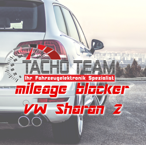 mileage stopper VW Sharan 2