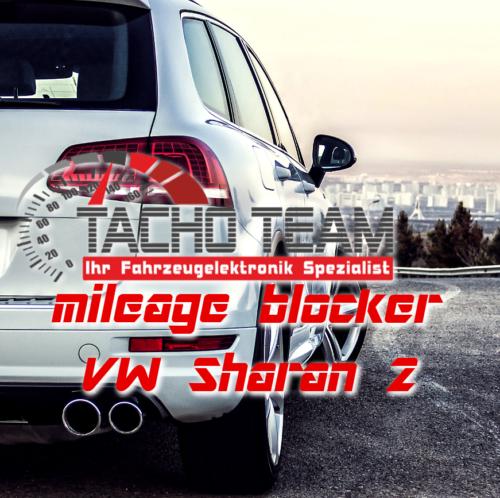 mileage stopper VW Sharan 2
