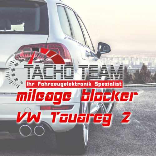 mileage stopper VW Touareg 2