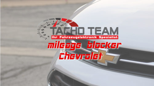 mileage stopper Chevrolet